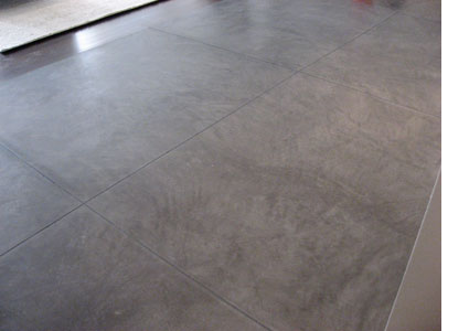 Cement Floor Tiles a diy stenciled cement floor in a laundry room using the moroccan tiles pattern http Concreteworks East Custom Concrete Floors Concrete Tiles Nyc