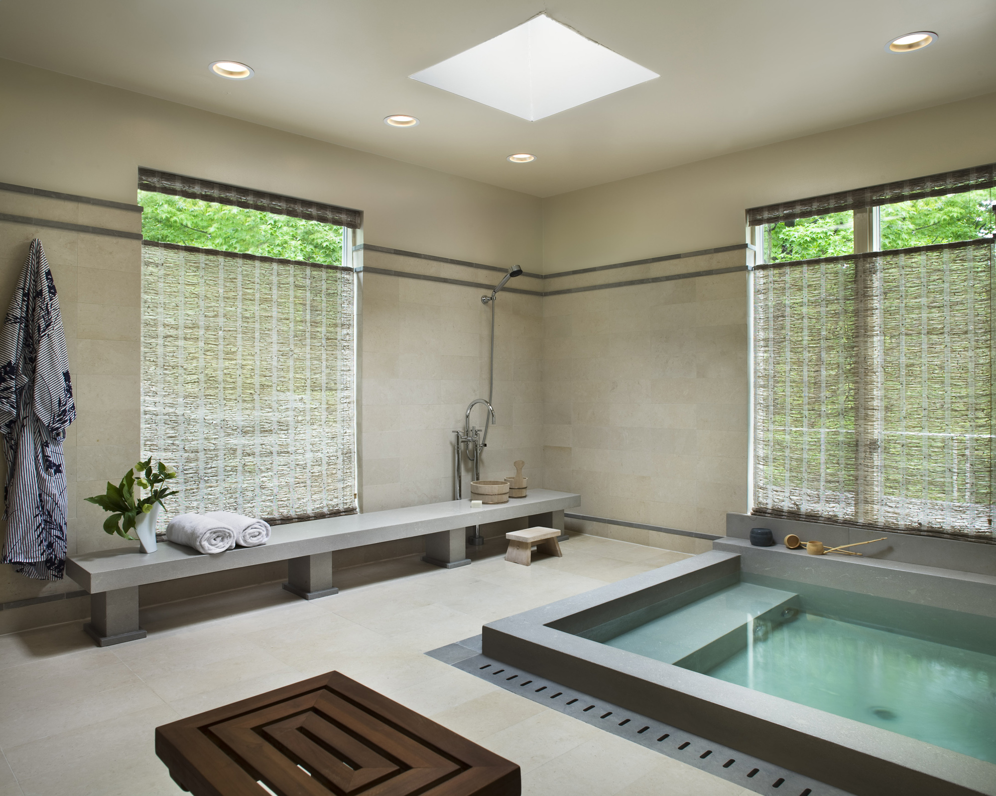 Japanese Bath Design. Japanese Bathroom Design Traditional Touch In ...