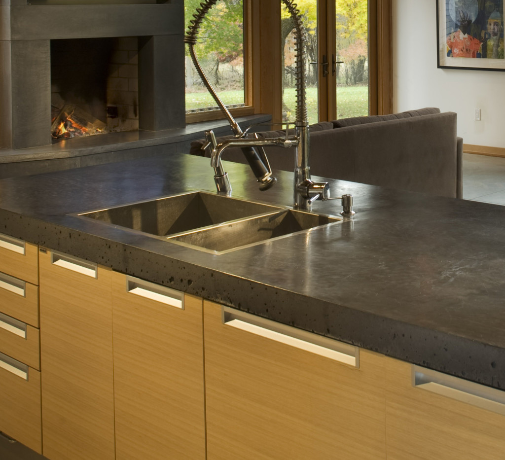 how to make slurry for concrete countertops